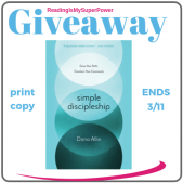 Guest Post (and a Giveaway!): Dana Allin & Simple Discipleship