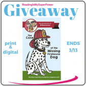 Author Interview (and a Giveaway!): Daphne Self & The Case of the Missing Firehouse Dog