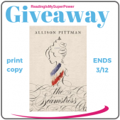 Guest Post (and a Giveaway!): Allison Pittman & The Seamstress