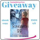 Author Interview (and a Giveaway!): J'nell Ciesielski & The Songbird and the Spy