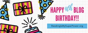 Happy 4th Blog Birthday!!