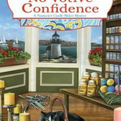 Book Review (and a Giveaway!): Murder's No Votive Confidence by Christin Brecher