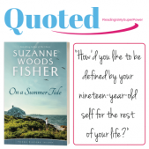 Guest Post: Suzanne Woods Fisher & On a Summer Tide