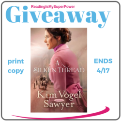 Author Interview (and a Giveaway!): Kim Vogel Sawyer & A Silken Thread