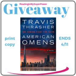 Author Interview (and a Giveaway!): Travis Thrasher & American Omens