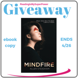 Author Interview (and a Giveaway!): Allen Steadham & Mindfire