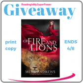 Author Interview (and a Giveaway!): Mesu Andrews & Of Fire and Lions