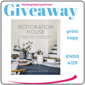 Author Interview (and a Giveaway!): Kennesha Buycks & Restoration House