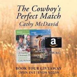 Book Review (and a Giveaway!): The Cowboy's Perfect Match by Cathy McDavid