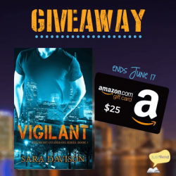 Book Spotlight (and a Giveaway!): Vigilant by Sara Davison