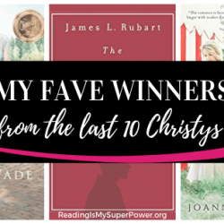Top Ten Tuesday: My Fave Winners From The Last 10 Christy Awards