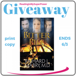 Book Review (and a Giveaway!): Bitter Pill by Richard Mabry