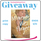 Author Interview (and a Giveaway!): Beth Vogt & Moments We Forget