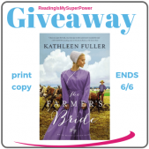 Author Interview (and a Giveaway!): Kathleen Fuller & The Farmer's Bride