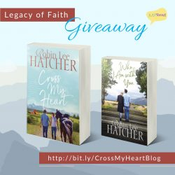 Welcome to the Blog Tour & Giveaway for Cross My Heart by Robin Lee Hatcher