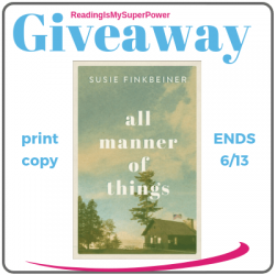 Author Interview (and a Giveaway!): Susie Finkbeiner & All Manner of Things