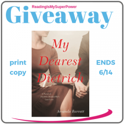 Author Interview (and a Giveaway!): Amanda Barratt & My Dearest Dietrich