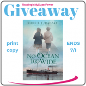 Author Interview (and a Giveaway!): Carrie Turansky & No Ocean Too Wide
