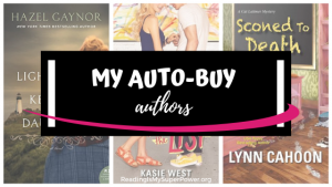Top Ten Tuesday: My Auto-Buy Authors