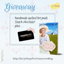 Book Spotlight (and a Giveaway!): Hope for Tomorrow by Michelle De Bruin