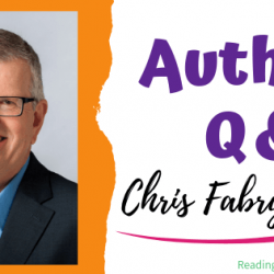 Author Interview (and a Giveaway!): Chris Fabry & Overcomer