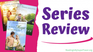 Book Review Mini Triple Feature: Misty Willow series by Johnnie Alexander
