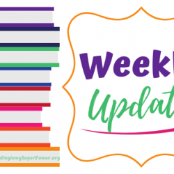 Some Goodreads Giveaways and Weekly Update for August 11
