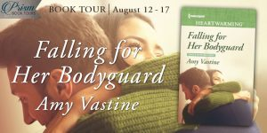 Blog Tour Grand Finale (and a Giveaway!): Falling For Her Bodyguard by Amy Vastine