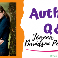 Author Interview (and a Giveaway!): Joanna Davidson Politano & Finding Lady Enderly