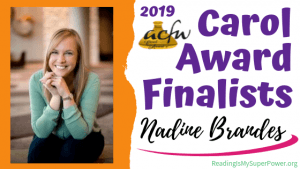 2019 Carol Award Finalists Q&A (and a Giveaway!): Nadine Brandes & Fawkes