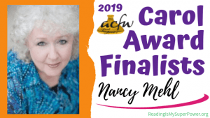 2019 Carol Award Finalists Q&A (and a Giveaway!): Nancy Mehl & Mind Games