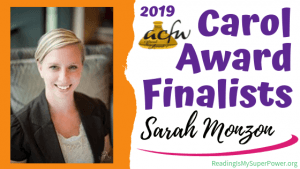 2019 Carol Award Finalists Q&A (and a Giveaway!): Sarah Monzon & Freedom's Kiss