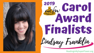2019 Carol Award Finalists Q&A (and a Giveaway!): Lindsay A. Franklin & The Story Peddler
