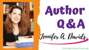 Author Interview (and a Giveaway!): Jennifer A. Davids & A Perfect Weakness