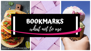 Top Ten Tuesday: What NOT to Use as a Bookmark