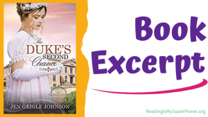 Book Spotlight (and a Giveaway!): The Duke's Second Chance by Jen Geigle Johnson