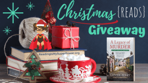 It's Beginning to Look A Lot Like Christmas (Reads) GIVEAWAY: A Legacy of Murder (+ guest post)
