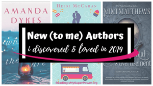Top Ten Tuesday: New (to me) Authors I Discovered & Loved in 2019