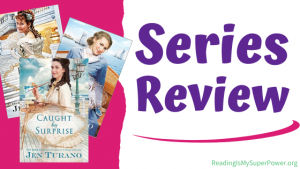 Book Series Review: Apart From the Crowd series by Jen Turano