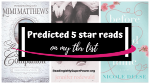 Top Ten Tuesday: Books On My TBR I Predict Will Be 5 Star Reads