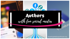 Top Ten Tuesday: Authors With A Fun Social Media Presence