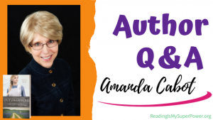 Author Interview (and a Giveaway!): Amanda Cabot & Out of the Embers