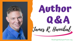 Author Interview (and a Giveaway!): James R. Hannibal & Chasing the White Lion