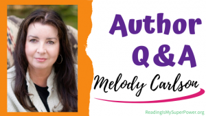 Author Interview (and a Giveaway!): Melody Carlson & The Happy Camper