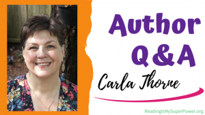 Author Interview (and a Giveaway!): Carla Thorne & Warrior Saints