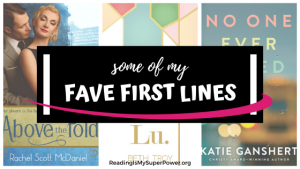 Top Ten Tuesday: Some of My Fave First Lines