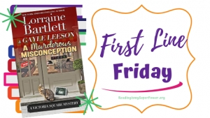First Line Friday (and a Giveaway!): A Murderous Misconception