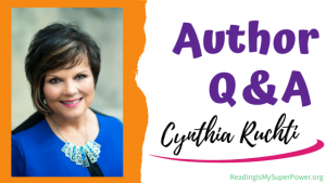 Author Interview (and a Giveaway!): Cynthia Ruchti & Afraid of the Light