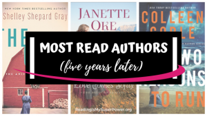 Top Ten Tuesday: Authors I've Read The Most (5 Years Later)