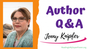 Author Interview (and a Giveaway!): Jenny Knipfer & By the Light of the Moon series
